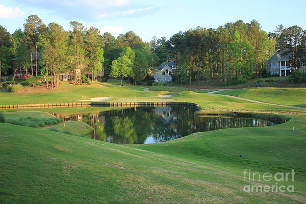 Photograph - Water Hole Golf by Reid Callaway