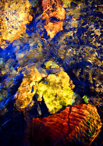 Photograph - Water Painting 2 by Peter Cutler