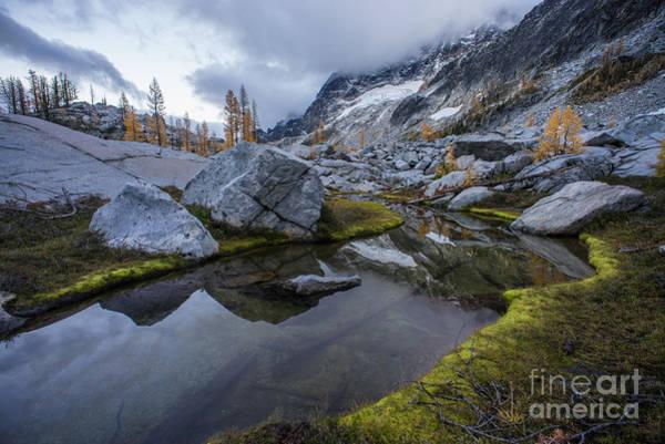 Stuart Photograph - Water Past Granite by Mike Reid