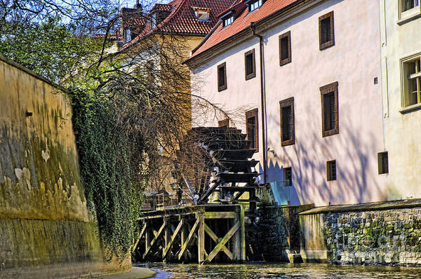 Photograph - Water Power In Prague by Brenda Kean