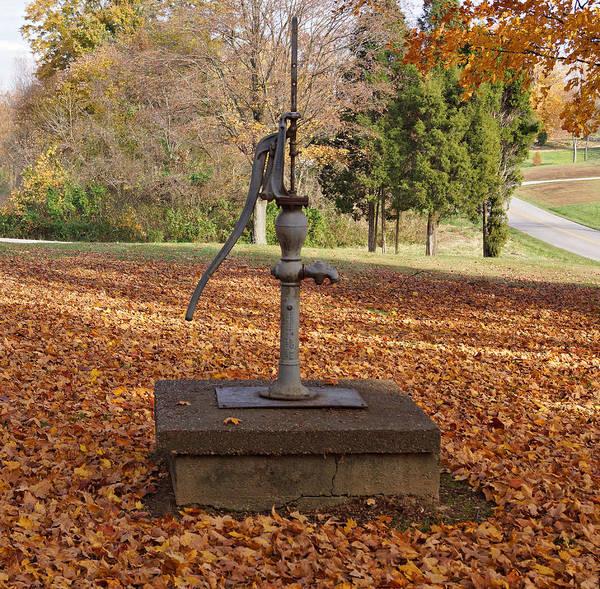 Photograph - Water Pump by Sandy Keeton