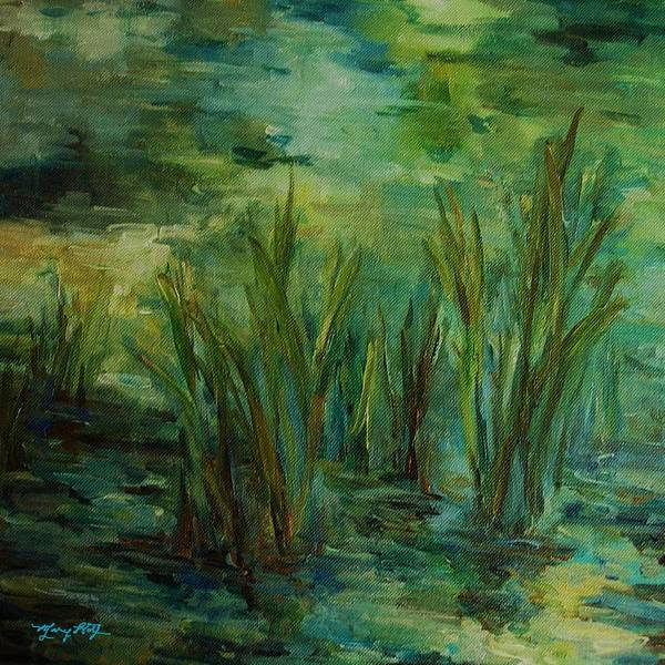 Painting - Water Reflections by Mary Wolf