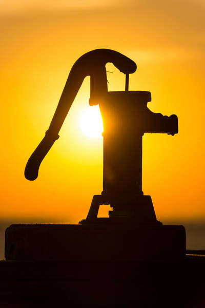 Photograph - Water Spigot Sunrise by Clint Buhler