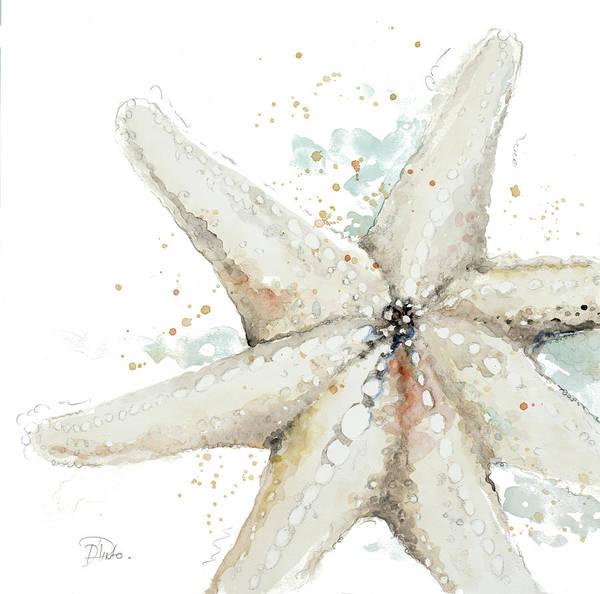 Starfish Painting - Water Starfish by Patricia Pinto