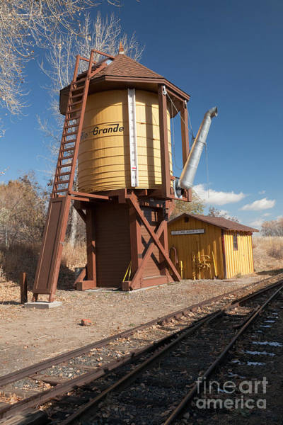 Photograph - Water Tower In The Colorado Railroad Museum by Fred Stearns