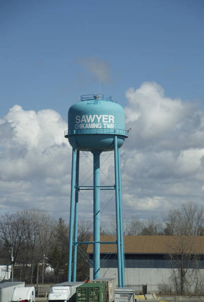 Wall Art - Photograph - Water Tower Sawyer Chikaming Twp Michigan by Thomas Woolworth