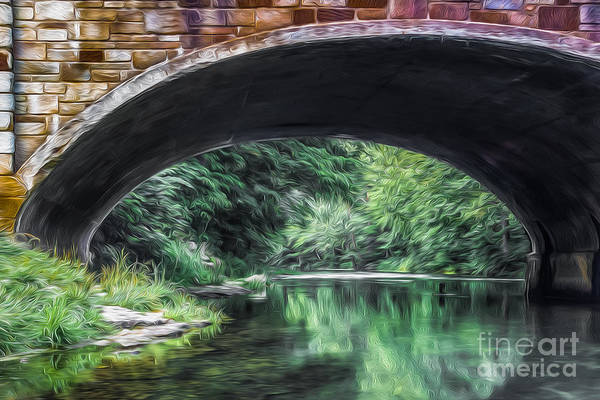 Photograph - Water Under The Bridge by Larry McMahon