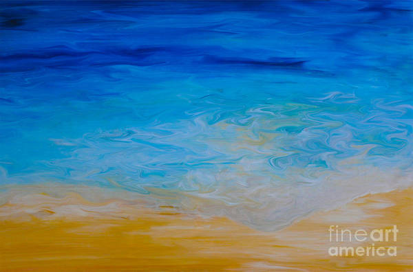 Painting - Water Vision by Shelley Myers