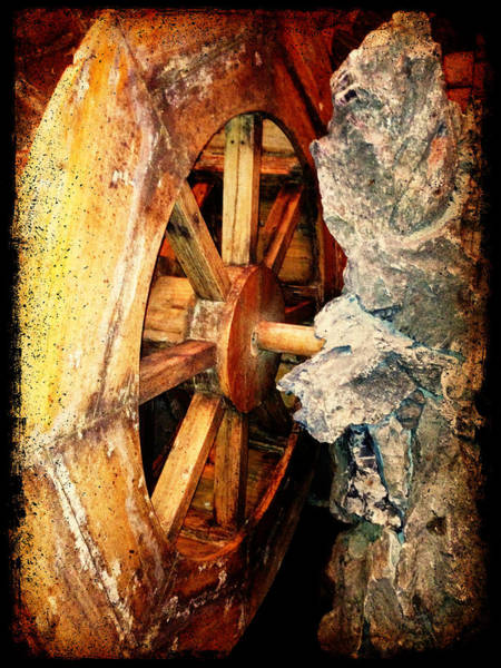Photograph - Water Wheel by Richard Reeve