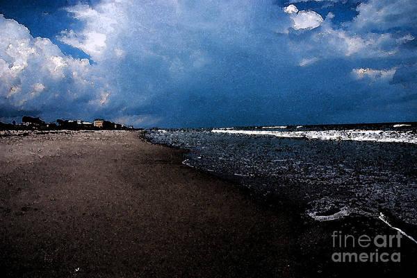 Photograph - watercolor Beach by Susanne Van Hulst