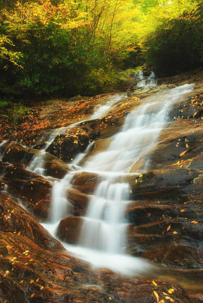 Photograph - Waterfall @ Sams Branch by Photography  By Sai