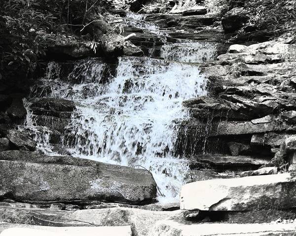 Photograph - Waterfall 3 by John Feiser