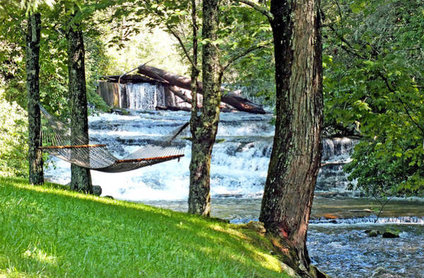 Photograph - Waterfall And Hammock In Summer 3 by Duane McCullough