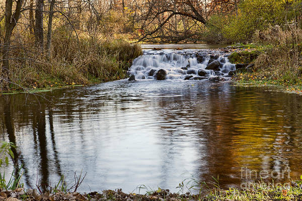 Bonneyville Mill Wall Art - Photograph - Waterfall At Bonneyville by David Arment