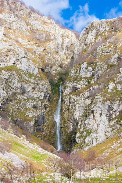 Wall Art - Photograph - Waterfall At Lago Del Matese by Gabriela Insuratelu