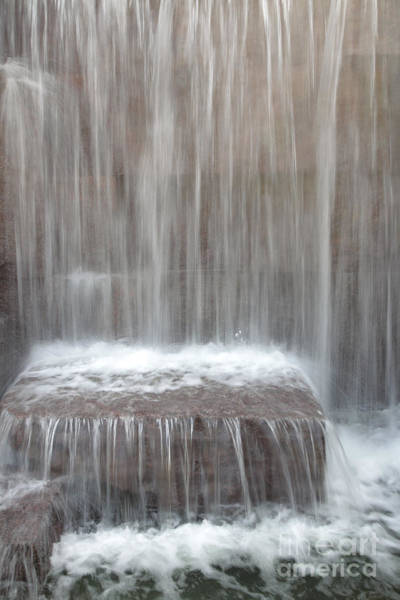 Wall Art - Photograph - Waterfall At The Fdr Memorial In Washington Dc by William Kuta