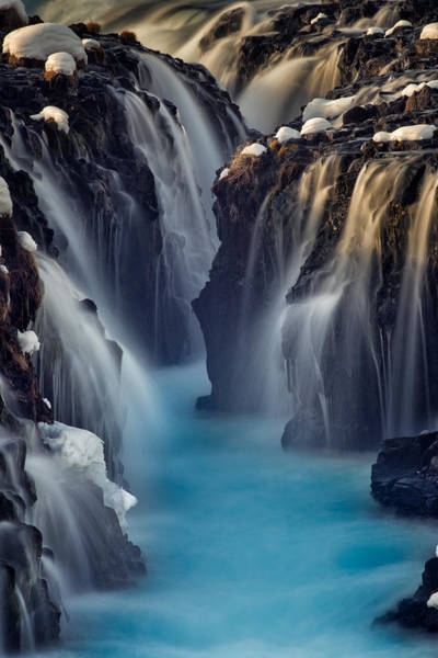 Wall Art - Photograph - Waterfall Blues by Mike Berenson