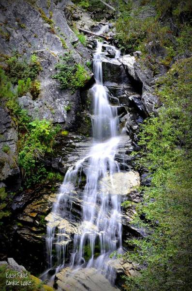 Photograph - Waterfall - Conkle Lake by Guy Hoffman