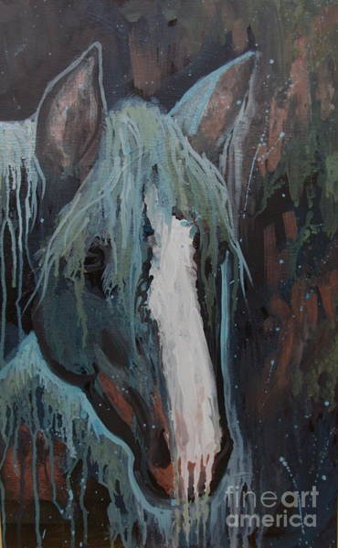 Painting - Waterfall II by Sherri Anderson