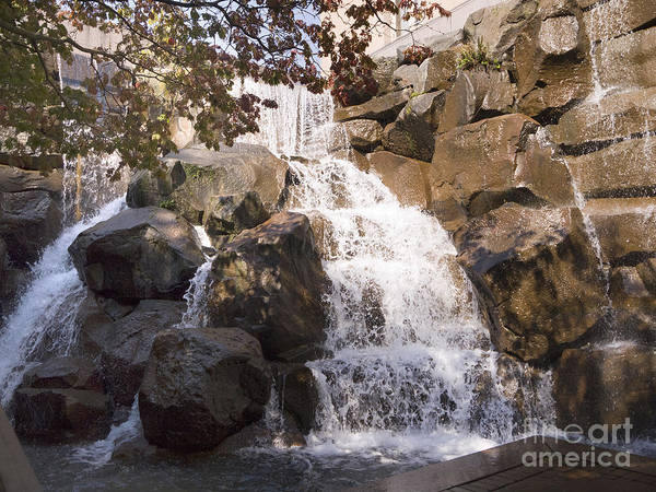 Photograph - Waterfall In The City by Brenda Kean