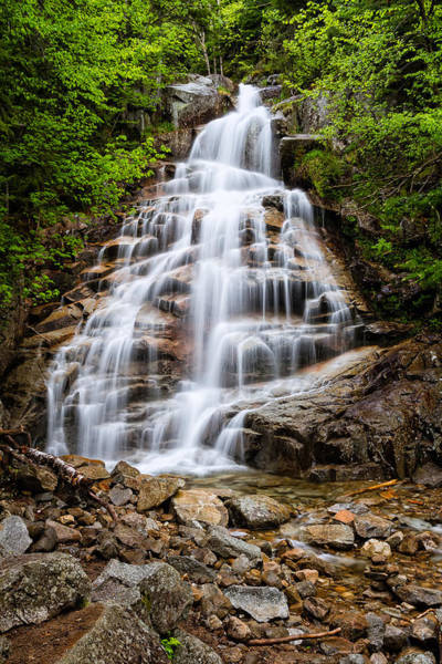 Photograph - Waterfall In The Clouds by Jeff Sinon