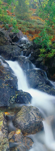 Peacefulness Photograph - Waterfall, Lake District, Lake District by Panoramic Images