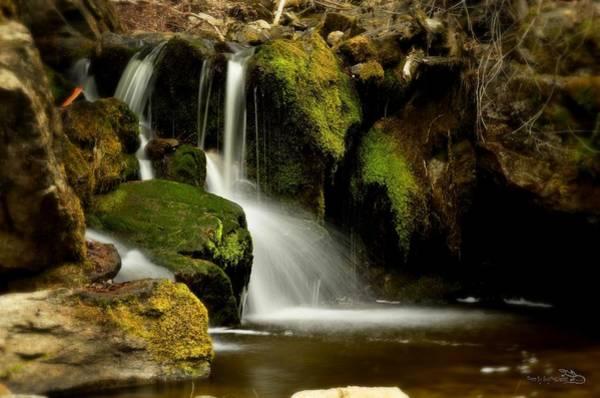 Photograph - Waterfall - Naramata Dsc0043 by Guy Hoffman