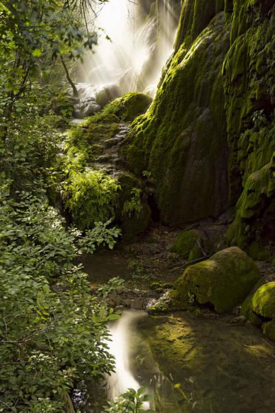 Photograph - Waterfall Of Light by Jonathan Davison
