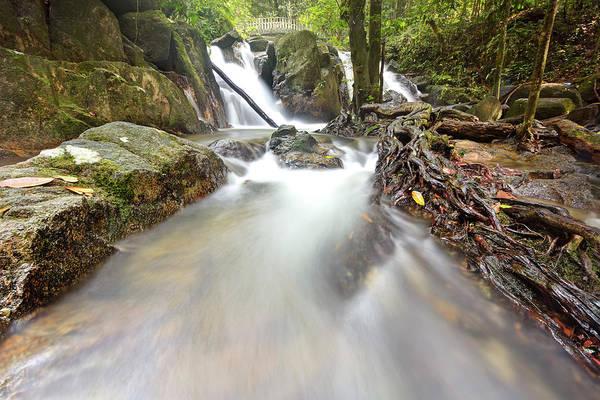 Wall Art - Photograph - Waterfall - River Flows by Tuah Roslan