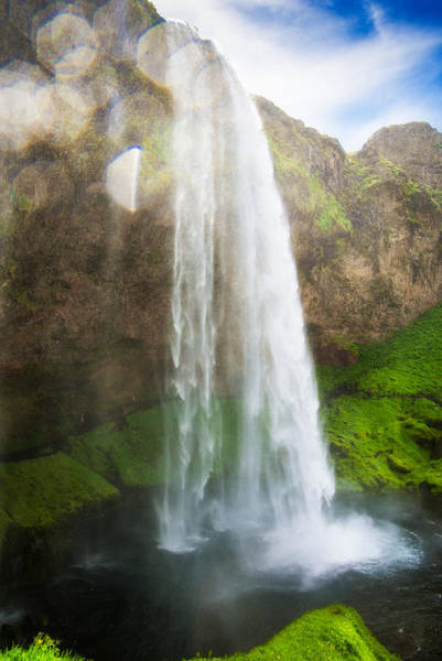 Photograph - Waterfall Seljalandsfoss In South Iceland Europe by Matthias Hauser