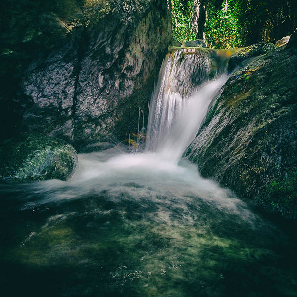 Wall Art - Photograph - Waterfall by Stelios Kleanthous