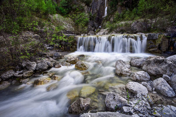 Photograph - Waterfall Valley by Ivan Slosar