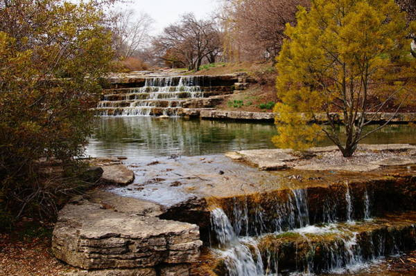 Photograph - Waterfalls At Franklin Park by Mike Murdock