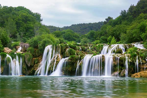Environmental Conservation Photograph - Waterfalls Of Krka River by Matjaz Slanic