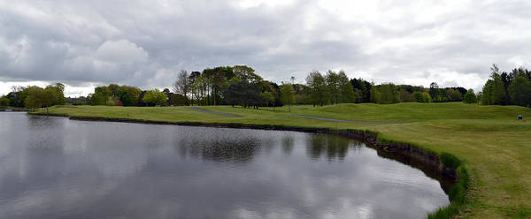 Wall Art - Photograph - Waterford Castle Golf Course. by Terence Davis