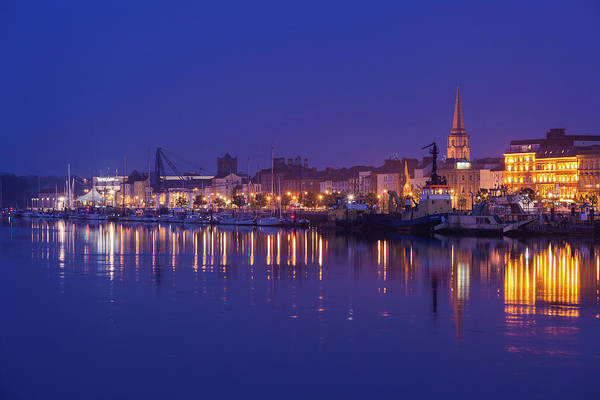 Suir Photograph - Waterford Skyline Along River Suir by Panoramic Images