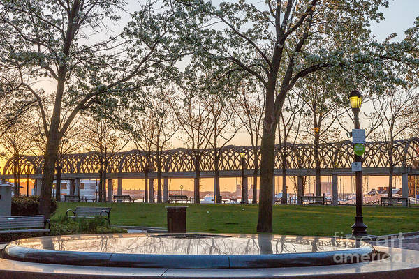 Photograph - Waterfront Park Sunrise by Susan Cole Kelly