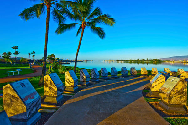 Uss Bowfin Photograph - Waterfront Submarine Memorial, Uss by Panoramic Images