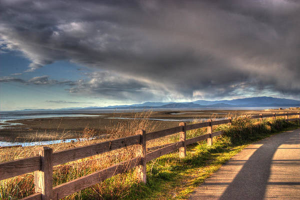 Photograph - Waterfront Walkway by Randy Hall