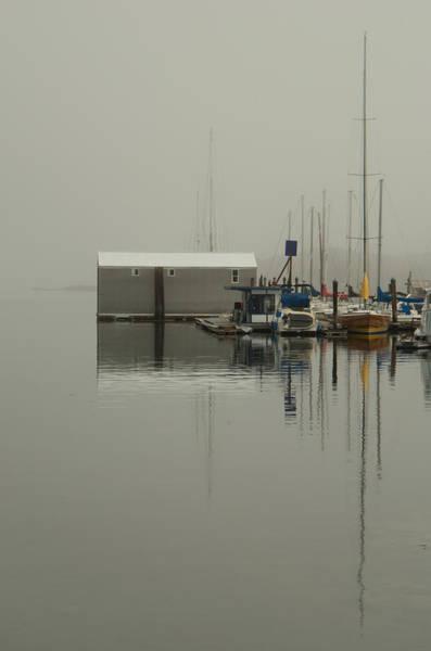 Photograph - Marina Boathouse by Marilyn Wilson
