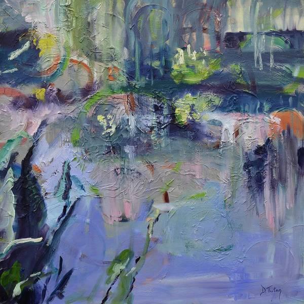 Painting - Watergarden by Donna Tuten