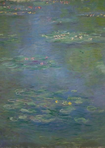 Wall Art - Painting - Waterlilies, Detail, 1903 by Claude Monet