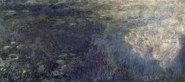 Nympheas Wall Art - Painting - Waterlilies, The Clouds by Claude Monet