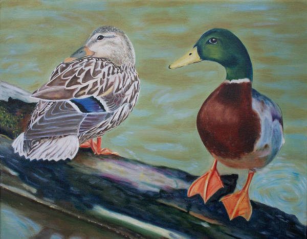 Painting - Waterlogged by Jill Ciccone Pike