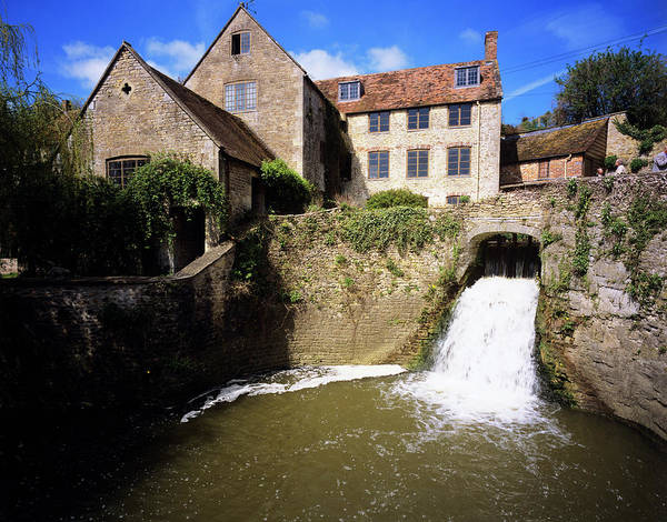 Millrace Wall Art - Photograph - Watermill by Adam Hart-davis/science Photo Library