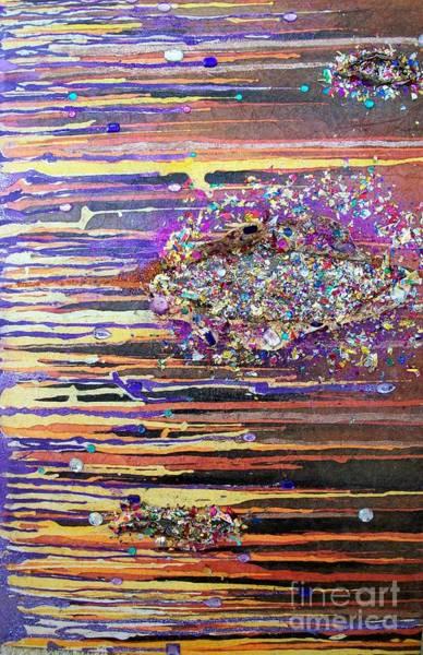 Mixed Media - Waternymphs by Carol Losinski Naylor