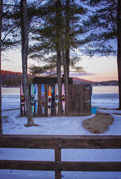 Photograph - Waterskis In Winter by Tom Singleton
