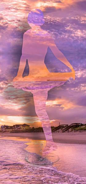Pier Digital Art - Waterspout by Betsy Knapp