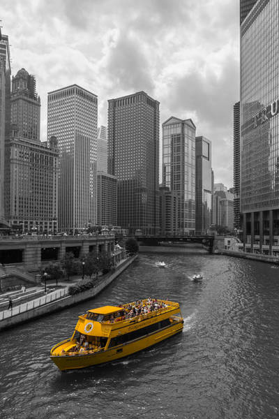 Yellow Taxi Photograph - Watertaxi by Clay Townsend