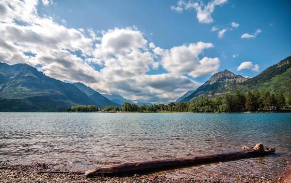 Wall Art - Photograph - Waterton Lakes Clouds by James Wheeler